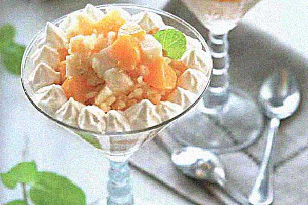 рисовый десерт